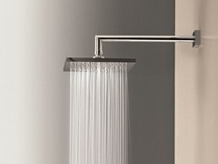 - Wall-mounted overhead shower with arm Overhead shower with arm - Fantini Rubinetti