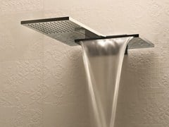 - Wall-mounted 2-spray overhead shower MILANO - 8035 - Fantini Rubinetti