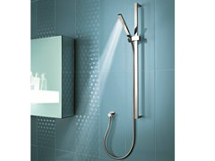 - Shower wallbar with hand shower LINEA - Fantini Rubinetti