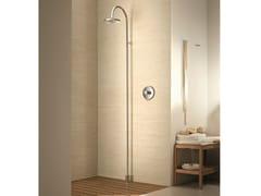 - Floor standing shower panel with overhead shower Floor standing shower panel - Fantini Rubinetti