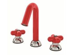 - 3 hole countertop washbasin tap I BALOCCHI | 3 hole washbasin tap - Fantini Rubinetti
