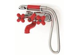 - Wall-mounted bathtub tap with hand shower I BALOCCHI | Bathtub tap - Fantini Rubinetti