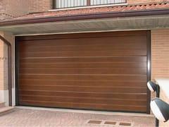 Portone da garage in legnoCIVIC - BREDA SISTEMI INDUSTRIALI