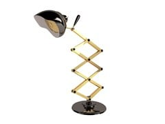 With swing arm desk lamp BILLY - Delightfull