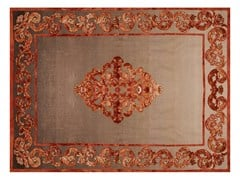 - Patterned handmade rectangular rug AMIRAL SHADOW - EDITION BOUGAINVILLE