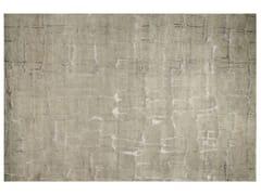 - Patterned handmade rectangular rug COLOMBO AQUA - EDITION BOUGAINVILLE