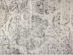 - Patterned handmade rectangular rug SUMATRA GREY - EDITION BOUGAINVILLE