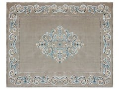 - Patterned rectangular rug AMIRAL TURQUOISE - EDITION BOUGAINVILLE
