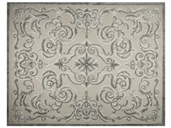 - Patterned rectangular rug CARDINAL FICELLE - EDITION BOUGAINVILLE