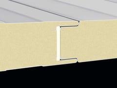 Pannello metallico coibentato per facciataBOX - ITALPANNELLI
