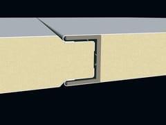 Pannello metallico coibentato per facciataSUPERBOX - ITALPANNELLI