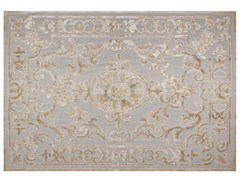 - Contemporary style patterned rug POMPADOUR PASTEL - EDITION BOUGAINVILLE
