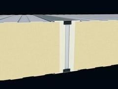Pannello metallico coibentato per facciataJUMBO GSQ - ITALPANNELLI