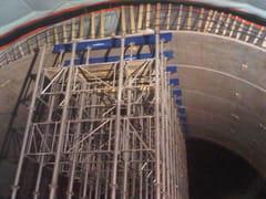 Tragelement aus Stahlbetonfertigteilen RIVESTIMENTO GALLERIE | Tragelement aus Stahlbetonfertigteilen - MUSILLI