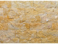 - Natural stone finish GIALLO REALE TR | Natural stone wall tiles - B&B