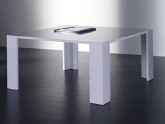 - Square wooden dining table BRANDO | Square table - Meridiani