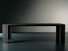 - Rectangular wooden dining table BRANDO | Rectangular table - Meridiani