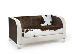 - 2 seater cowhide sofa RAM | Cowhide sofa - ISD
