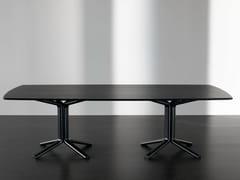 - Rectangular dining table MILLER | Rectangular table - Meridiani