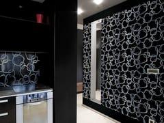 Pavimento/rivestimento in vetroDECORATIVE RINGS - BRECCI BY EIDOS GLASS
