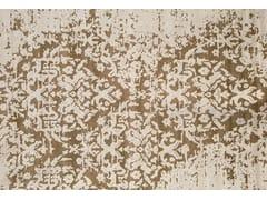 - Contemporary style handmade rug TAJ MAHAL PLATINE - EDITION BOUGAINVILLE