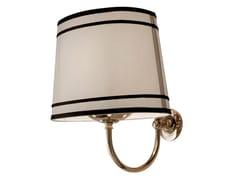 - Fabric bathroom wall lamp BLACK CLOUD - GENTRY HOME