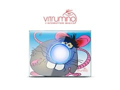 Serie civile / lampada da notte VITRUMINO - VITRUM by Think Simple