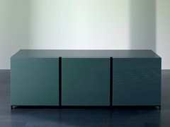 - Wooden sideboard with doors BOLK | Sideboard - Meridiani