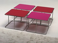 - Low square coffee table JOLLY | Square coffee table - GIOVANNETTI COLLEZIONI