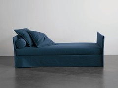 - Upholstered fabric day bed FOX | Day bed - Meridiani