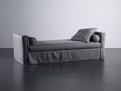 - Upholstered fabric day bed LAW | Day bed - Meridiani
