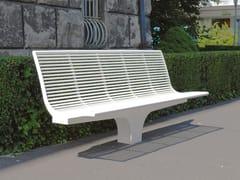 - Sectional stainless steel Bench SIARDO S 20 R | Bench - BENKERT BÄNKE