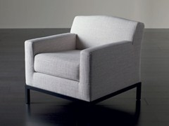 - Upholstered armchair with removable cover KELLY | Armchair - Meridiani