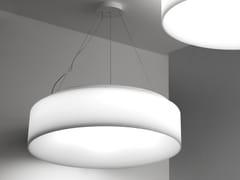 - Fluorescent pendant lamp HOLE - LIGHT   Metal pendant lamp - Martinelli Luce