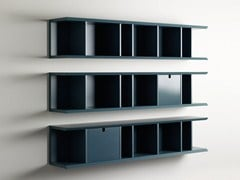 - Open horizontal wall cabinet with drawers HARRIS | Wall cabinet - Meridiani