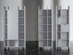 - Modular wooden bookcase HARRIS | Bookcase - Meridiani