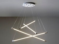- Fluorescent polycarbonate pendant lamp SHANGHAI - Martinelli Luce
