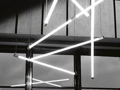 - Fluorescent pendant lamp SHANGHAI - Martinelli Luce