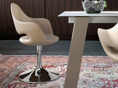 - Swivel easy chair with armrests SOFT-P - DOMITALIA