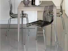 - Plastic chair GEL - DOMITALIA