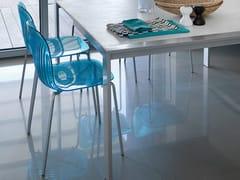 - Stackable plastic chair PLAYA - DOMITALIA