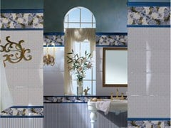 Double-fired ceramic wall tiles RICORDI BLOOMING - CERAMICHE BRENNERO