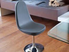 - Swivel upholstered chair BLADE-P - DOMITALIA