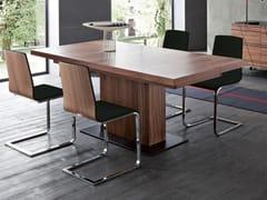 - Cantilever upholstered wooden chair JULIET-SL - DOMITALIA
