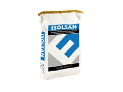 - Renovating and de-humidifying additive and plaster ISOLSAN - EDILTECO