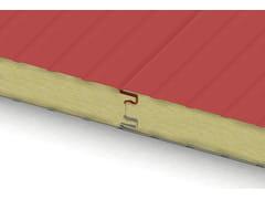 Pannello metallico coibentato per pareti e copertureECOLINE FIBERMET - ISOLPACK