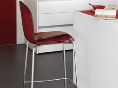 - High plastic stool PLAYA-SGB - DOMITALIA