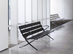 - Modular Bench with armrests BENCH B | Bench with armrests - BD Barcelona Design