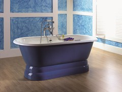 - Freestanding oval bathtub VINTAGE | Freestanding bathtub - BLEU PROVENCE