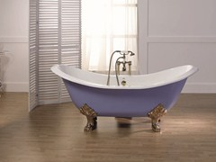 - Cast iron bathtub on legs THYM | Bathtub on legs - BLEU PROVENCE
